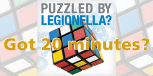 Puzzled by Legionella? Wednesday Webinars @ Noon