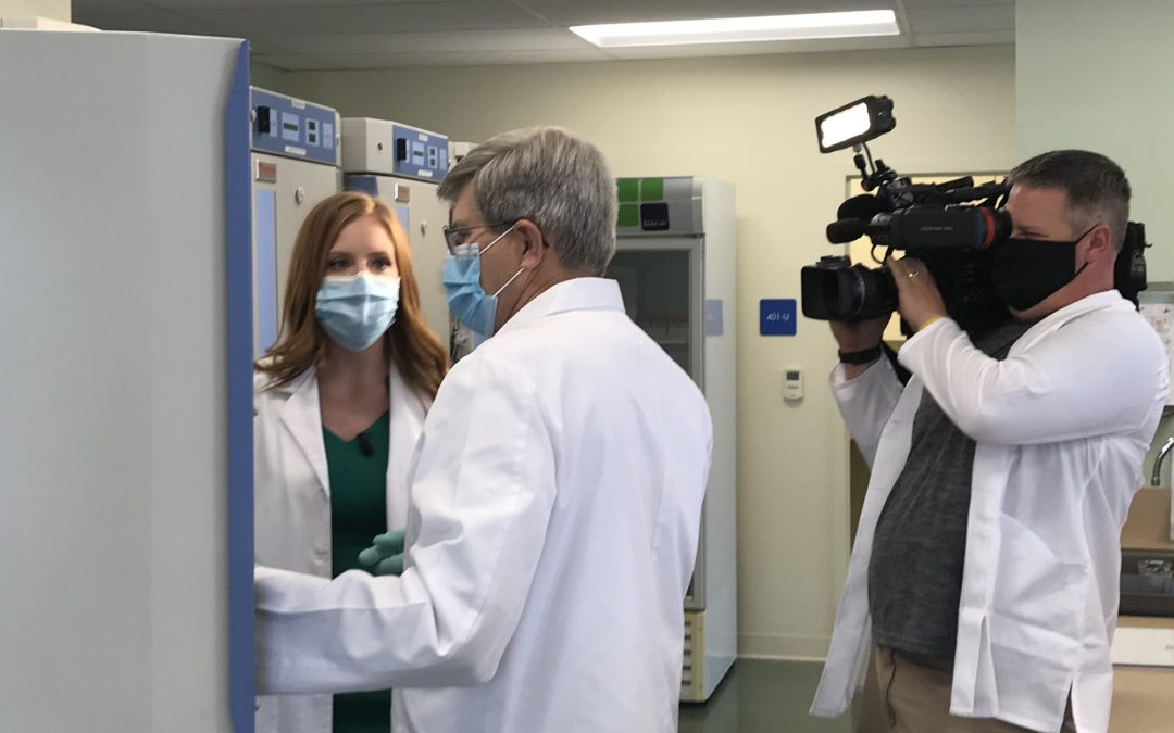 KDKA Tests Face Masks at Special Pathogens Laboratory